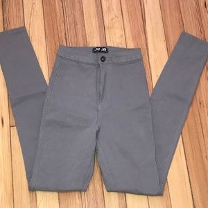 jcjq gray jean skinny size s - 3 for $20